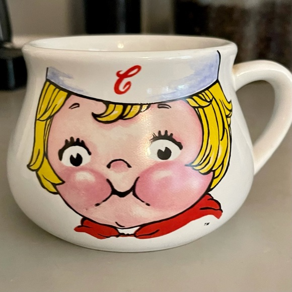 VTG Campbell's Soup Collectible Kid Face Mug Cup